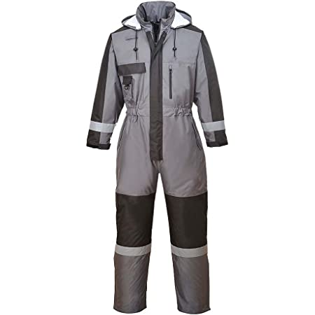 Portwest Winter Coverall, Colour: Grey, Size: S, S585GRRS