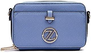 Zeneve London Ella Crossbody Bag For Women - Blue