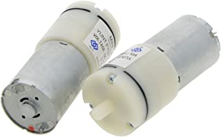 Saim DC 6V Mini Air Pump Motor for Aquarium Tank Oxygen Circulate 2 Pcs