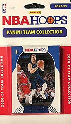 Dallas Mavericks 2020 2021 Hoops Factory Sealed 9 Card Team Set with Luka Doncic Plus Rookie Cards of Josh Green, Tyrell Terry and Tyler Bey