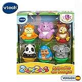 VTech Set de 6 Zoomizooz Bosque, Color (3480-439022)