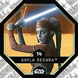 rewe Star Wars Cosmic Shells Normal 14AAYLA SECURA + WIZUALS Stickers
