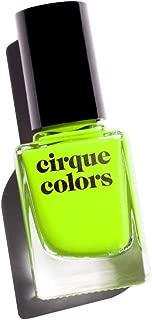 fluorescent green nail polish