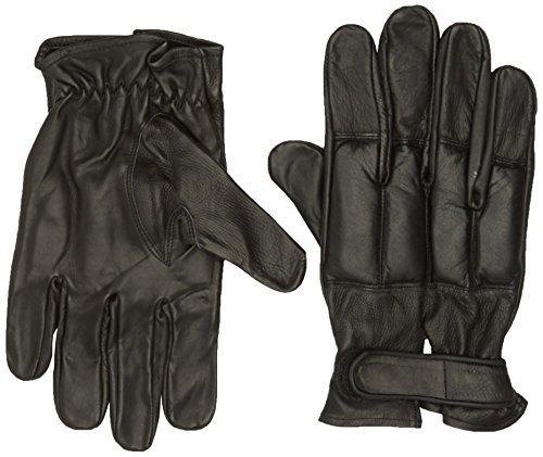 MFH 15615 Gants de cuir Security avec sable de quartz (Noir/XL)