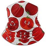 Randy-Shop Calentador de Cuello de vellón: Tubo de Polaina con Cuello de Tomate, pañuelo, máscara