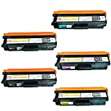 Speedy Toner Compatible Toner Cartridges Replacement for Brother TN331/TN336 Set Use for HL-8250CDN, 8350CDW, 8350CDWT, MFC-L8600CDW, L8850CDW Printers- (5 Pack)