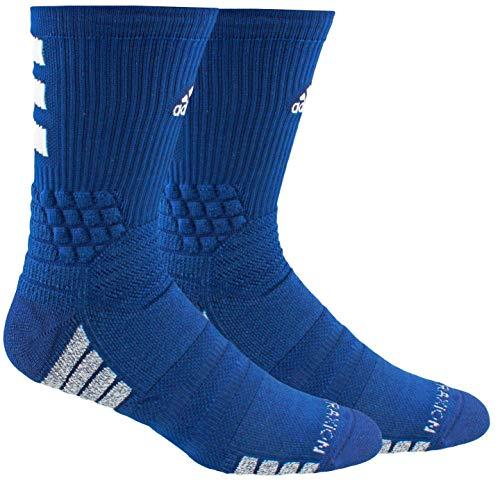 adidas Unisex-US Creator 365 Basketball Crew Socks (1-Pair), Collegiate Royal/White, 6.5-9