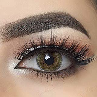 Multi-Color Cosmetic Contact Lenses Cosplay Party Cute Charm and Attractive Daily Fashion Eyes Lenses Eyes Makeup with Case