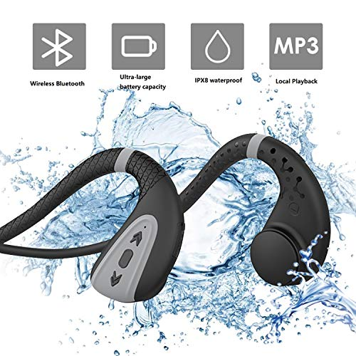 professionnel comparateur Bone conduction swimming headphones Swimming MP3 player Wireless Bluetooth 5.0 headphones… choix