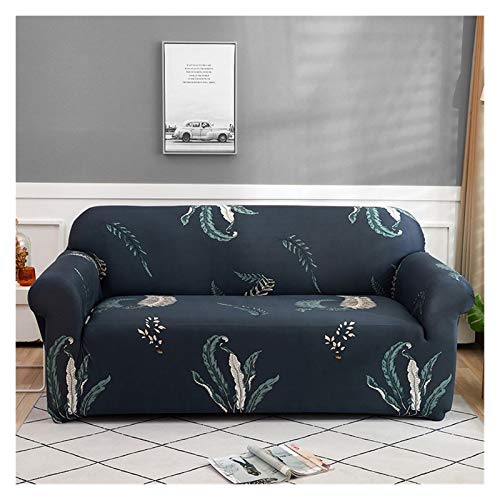 Sofabezug Elastic Sofa Slipcovers Moderne Sofa-Abdeckung for Wohnzimmer Sectional Corner L-Form Stuhl-Schutz Couch Abdeckung 1/2/3/4 Seater ( Color : Color 5 , Specification : Pillowcase 2pieces )