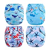 Thank u Mom Newborn Cloth Diaper All in One Tiny Reusable Nappies