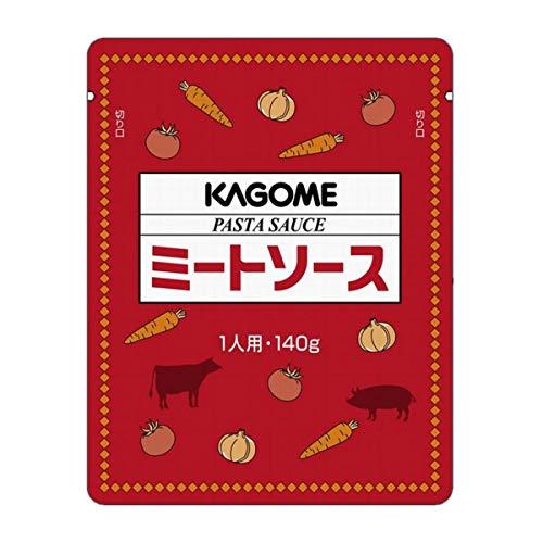 【常温】 カゴメ ミートソース パスタソース 140g×10袋 業務用 洋食 大容量