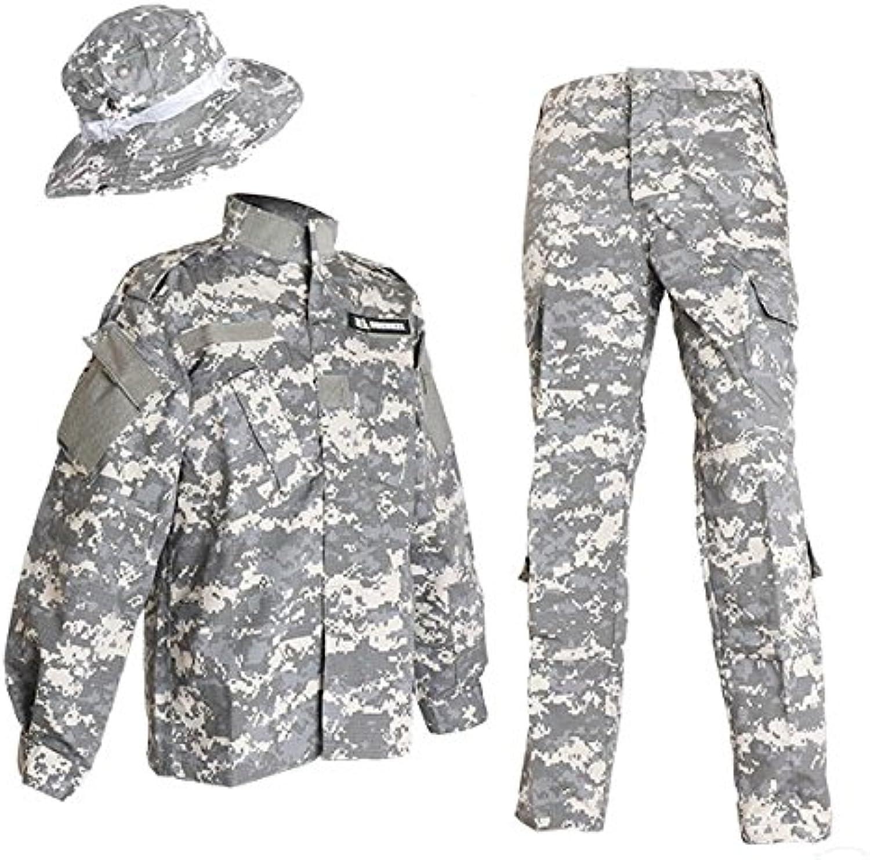 moda clasica ACU camuflaje uniforme de combate BDU BDU BDU boonie sombrero de arriba y abajo y establecer militar Sabage XS (japonesas Importaciones)  descuento