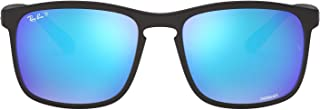 Ray-Ban Men's Rb4264 Chromance Mirrored Square Sunglasses
