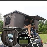 XPHW Tente de Toit en Plein air Sauvage de Voiture de Double Coque Dure extérieure Automatique ABS de Tour de Toit de Voiture hydraulique Automatique, appropriée à 2-3 Adultes,