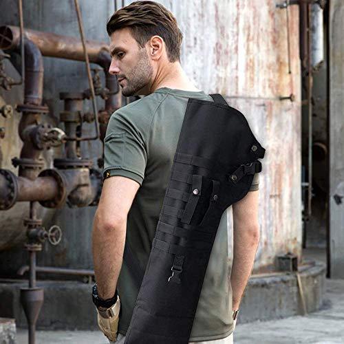 Pistolera militar de hombro de rifle de asalto, pistola de juguete táctica, funda de rifle de escopeta, funda para caza al aire libre, funda para bolsas, funda, mochila larga para hombro