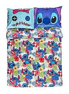 Disney Lilo & Stitch Hibiscus Full Sheet Set