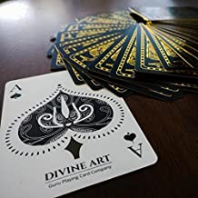 Divine Art Playing Cards Hindu Mythology Rare Gold Gilded