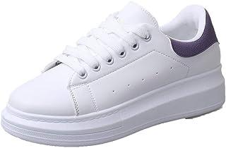 VogueZone009 Women's Pu Low-Heels Round-Toe Assorted Color Lace-Up Pumps-Shoes,CCADO015597