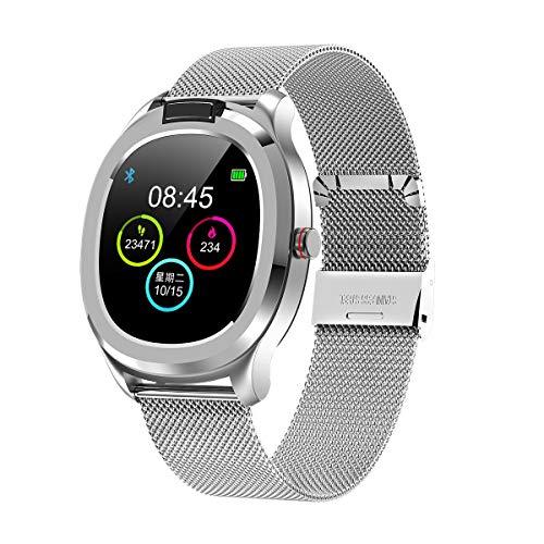 Vita Watch: Smartwatch mit Thermometer, Pulsmesser, Sauerstoffmesser, ECG, Schlaf, Schrittzähler, Kalorien, Sport, Benachrichtigungen, Zeit, Alarm und mehr Funktionen