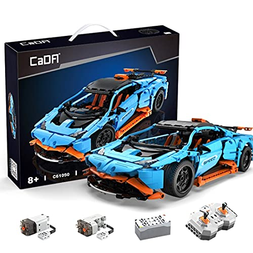KEAYO Técnica de coche para Lamborghini Aventador LP700-4, CADA C61050W, modelos de coches de carreras con bloques de sujeción, compatible con Lego Technic