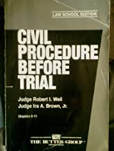 Civil Procedure Before Trial (Chapters 9-11)
