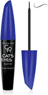 Golden Rose Matte Catseye Blue Eyeliner, Water Resistant