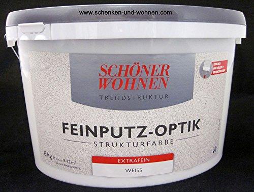 Feinputz-Optik Strukturfarbe extrafein 16 kg Schöner Wohnen