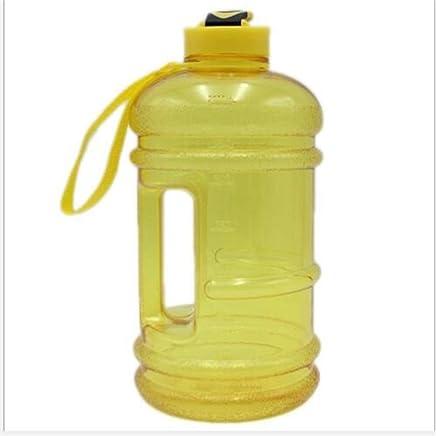 LNLZneue plastikbecher mit Wasser, 2.2l Plastik Becher, Bewegung, Tragbare Body-Building Kessel,gelb,2.2l B07GZDB4K5 | Schöne Farbe