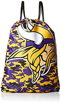 Minnesota Vikings Drawstring Backpack - Camouflage