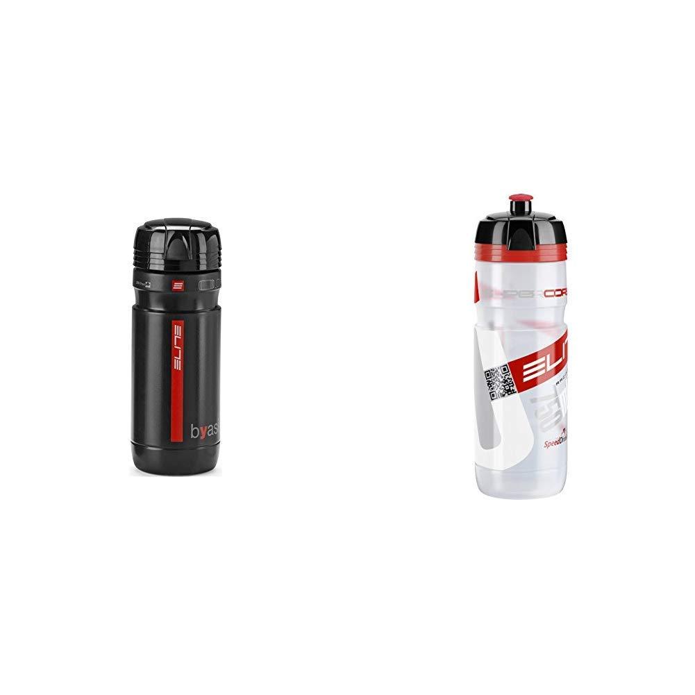 Elite Byasi Porta - Utensilios - Botella de Agua, Negro + 0091754 ...