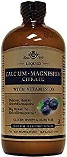 Solgar Liquid Calsium Magnesium D3 Blueberry, 16 Oz
