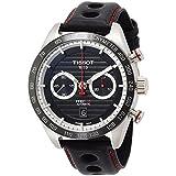 Orologio Tissot PRS 516 Automatic Gent T1004271605100 Automatico Acciaio Quandrante Nero Cinturino Pelle