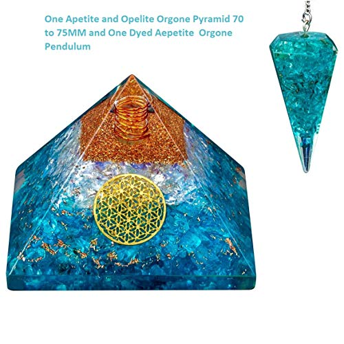 Wealth Prosperity Energy Generator Extra Large 70-75MM Orgone Pyramid for Money