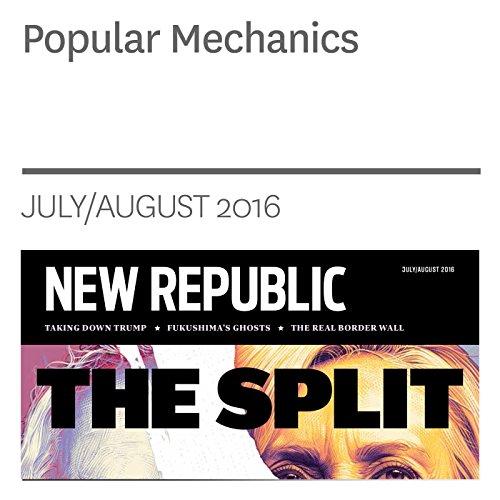 Popular Mechanics audiobook cover art