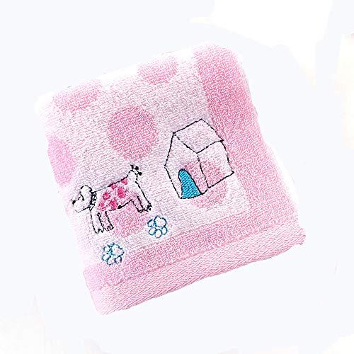 LIYANH Baby Handtuch 3 Packungen, 100% Baumwolle Baby Waschhandtuch, weiche hypoallergene Wasseraufnahme 25cn * 50cm Neugeborenes Handtuch...