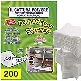 CIMILTEX 200 Panni cattura polvere tornado sweep XXL in microfibra Set da 10 confezioni....