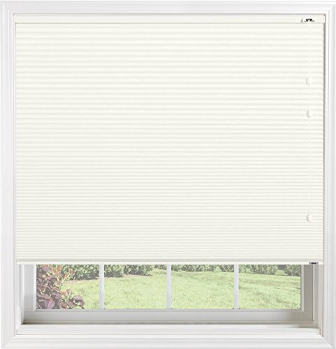 Bali Blinds Custom Blackout Cellular Shade with Cord Lift, 3/8' Fabric, Double Cell Midnight Dove, 39' x 70'