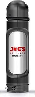 Joe's RideAir - refillable multi-use portable air capsule | Inflate bicycle tires at a push of a button | Carrying it on the bicycle using the standard bottles cage | For tubeless users | Without Lock