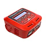 Dynamite Passport P1 Mini 60W AC Multi Balance Battery Charger Discharger with USB for RC Batteries: 2-4 Cell Li-Po, LiHV, Life | 6-8 Cell NiMH, NiCd | 6-12V PB