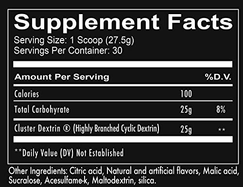 Redcon1 Clusterbomb (Unflavored) - Intra Workout carbohydrates