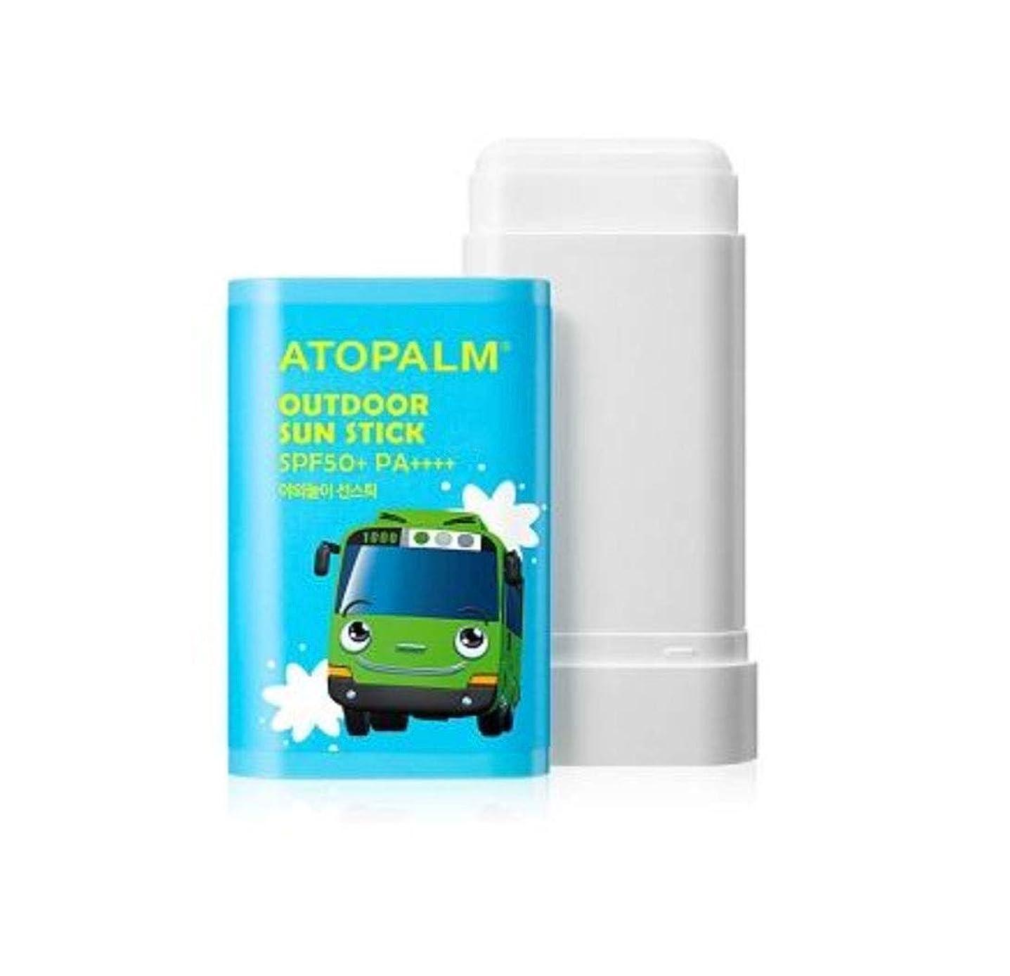 情報幸福新年ATOPALM OUTDOOR Sun Stick (EWG all green grade!) SPF50+ PA++++ 日焼け止めパーフェクトUVネック?手?足の甲?部分的に塗って修正スティック [並行輸入品]