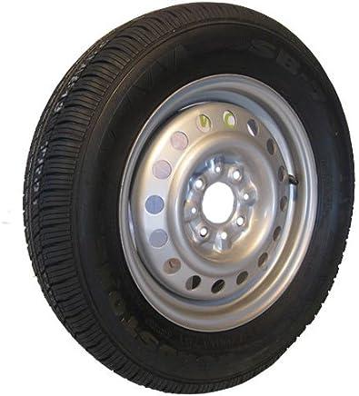 195//70 R14 llanta de neum/ático y rueda 5 pernos 96N 112 mm PCD 710 kg de carga m/áxima TRSP42
