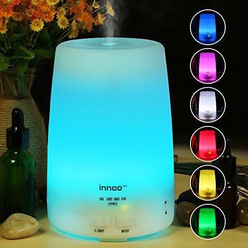 Innoo Tech Humidificador 300ml Difusor de Aceites Esenciales Difusor de Aroma 7...