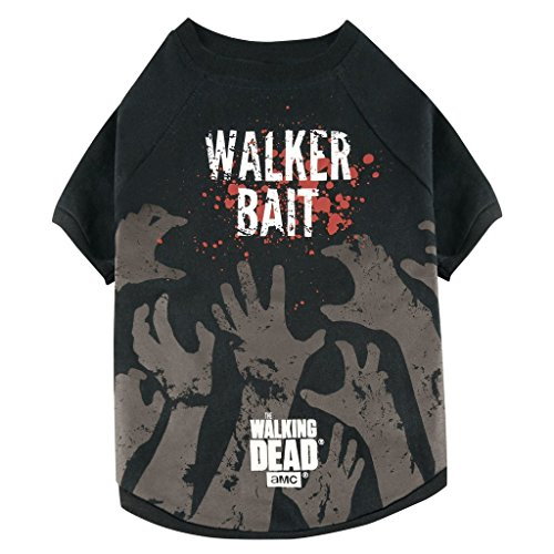 Onbekend The Walking Dead - Honden T-shirt - Walker Bait (S-XL), Medium