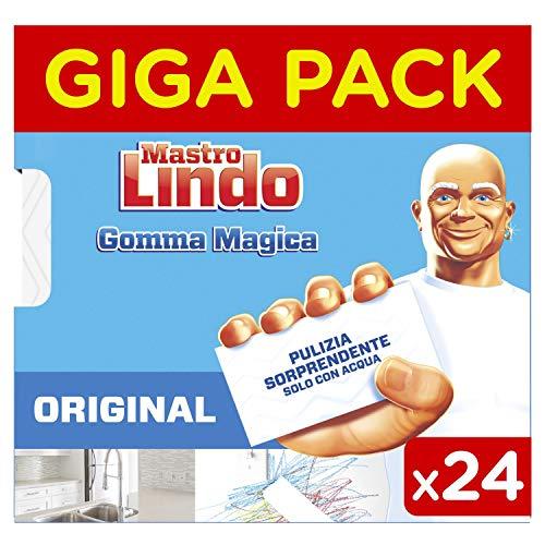 Mastro Lindo Gomma Magica, Maxi Formato da 24 Pezzi