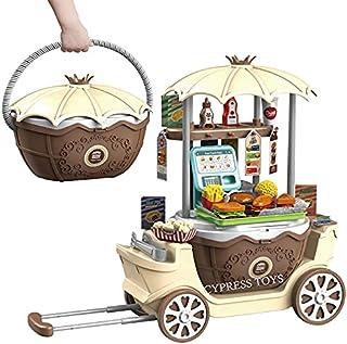 لعبة بتصميم عربة بيع متنقلة ممتعة للاطفال