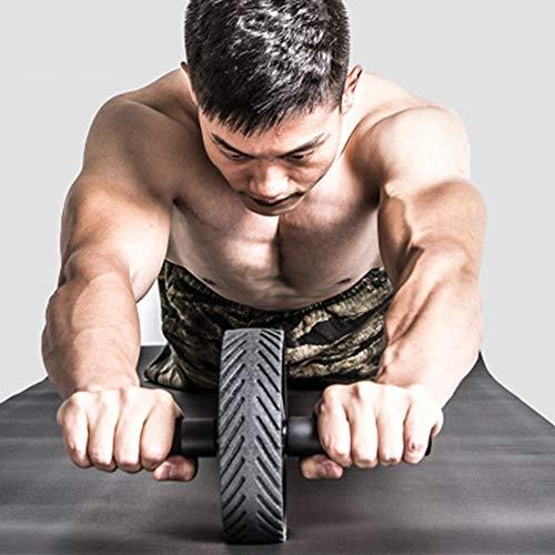 DSHHF Muskel-Trainingsgeräte Home Fitness-Geräte Einrad Bauch Power Wheel Ab Roller Gym Roller Trainer Training