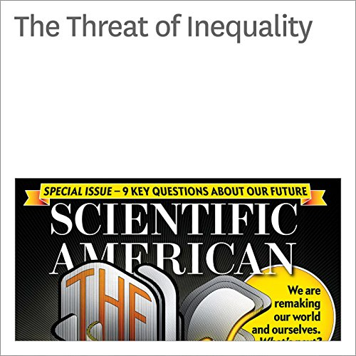 The Threat of Inequality audiobook cover art