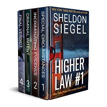 Higher Law Box Set Volume 1  Mike Daley/Rosie Fernandez Novels 1-4